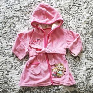 Carter's Little Princess Bath Robe 0-9M